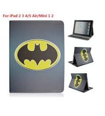 Apple iPad Mini Batman Printed Flip Stand Cover Case